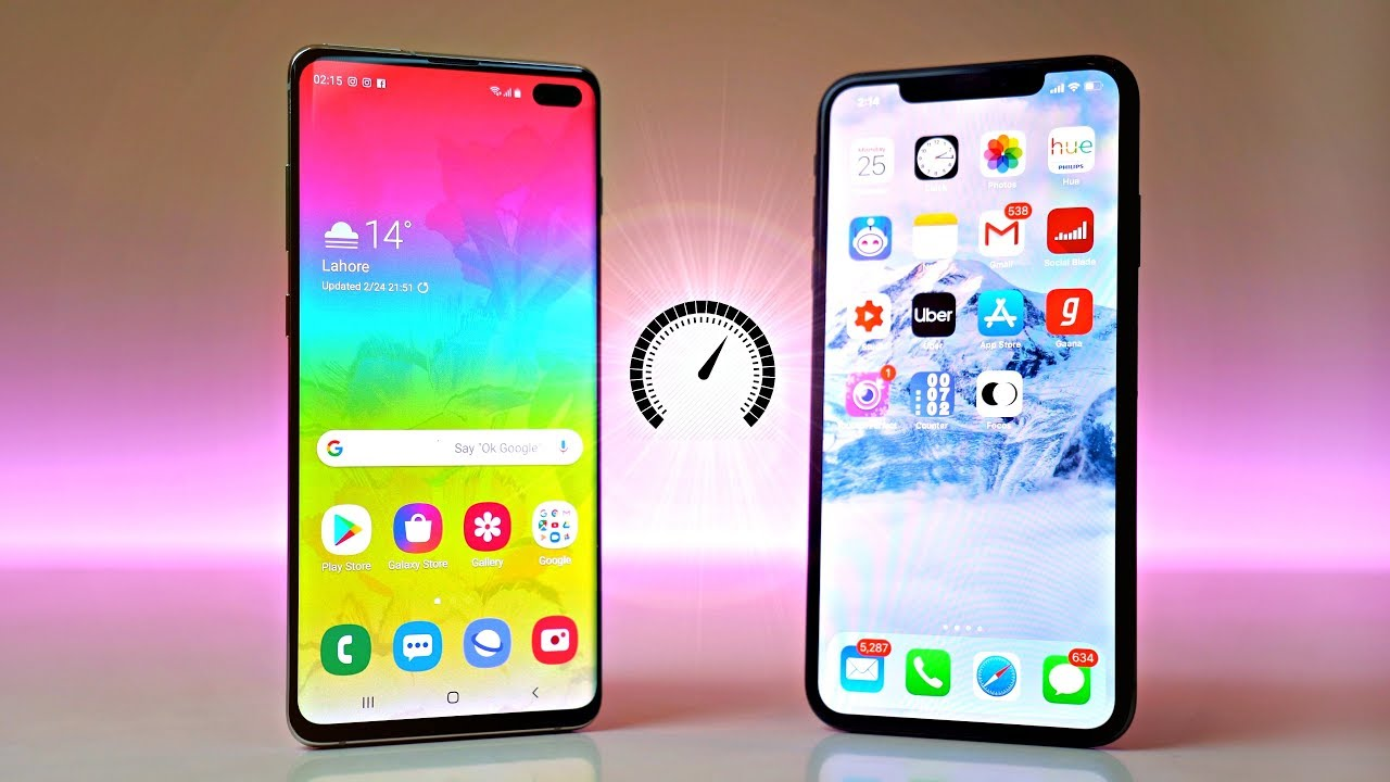 iPhone XS Max vs Samsung Galaxy S10: care are bateria mai buna?
