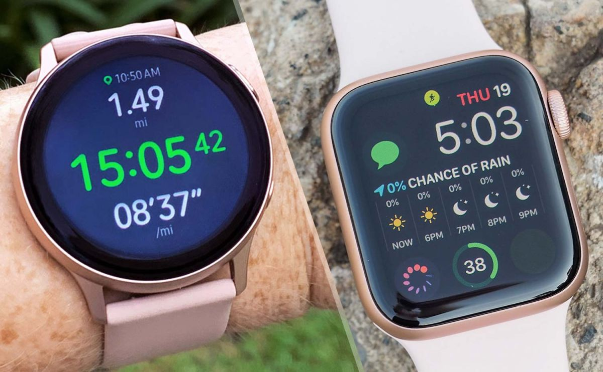 Galaxy Watch 3 VS Apple Watch Seria 5
